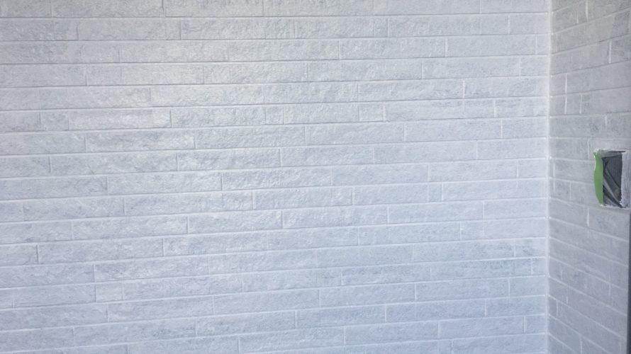 朝霞市にて外壁塗装 ~外壁の下塗り~