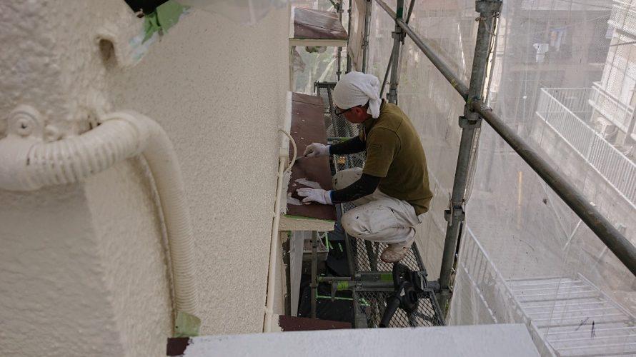 川崎市にて外壁塗装 ~各所塗装~