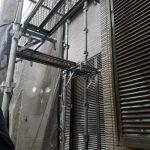 埼玉県見沼区にて外壁塗装 ~高圧洗浄~