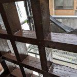 目黒区にて手摺の補修・塗装工事