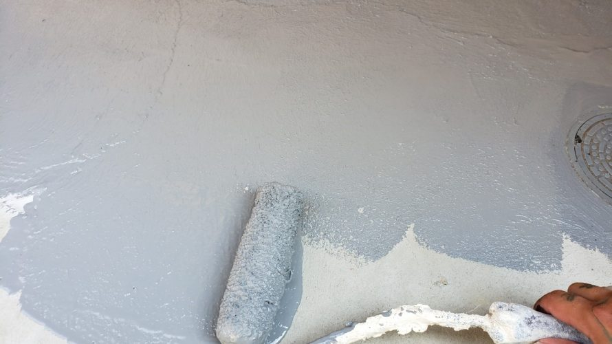 練馬区にて防水工事