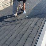杉並区にて屋根塗装
