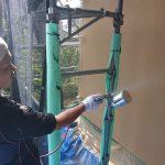 横浜市あざみ野にて外壁塗装