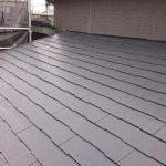 調布市にて屋根塗装