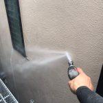 調布市にて外壁塗装・屋根塗装 ~高圧洗浄~