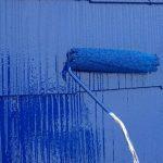 調布市にて屋根塗装工事 ~下塗り~