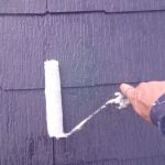 世田谷区にて屋根・外壁塗装工事 ~屋根下塗り~