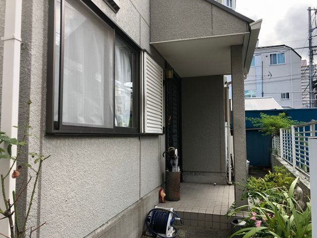 荒川区にて外壁塗装工事 ~施工前お写真~
